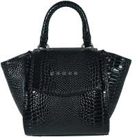 Cross Women Black PU Hand-held Bag