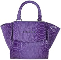 Cross Women Purple PU Hand-held Bag