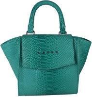 Cross Women Green PU Hand-held Bag