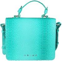Cross Women Green PU Sling Bag