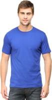 Falcon Taylor Solid Men's Round Neck Blue T-Shirt
