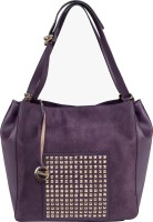 Klasse Women Purple Genuine Leather Shoulder Bag