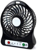 View Exmade Mini Portable & Rechargable Black S10 USB Fan(Multicolor) Laptop Accessories Price Online(Exmade)