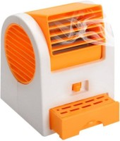 View MII II Mini Fresh Air Cooler With Fragrance 0 Blade Table Fan(Multi Color) Home Appliances Price Online(MII)