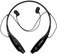 VibeX ��HandsFree Sport Stereo HBS-730 Headset with Mic(Black, In the Ear)