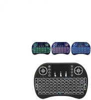 View strikers BACKLIGHT-01 Wireless Multi-device Keyboard(Multicolor) Laptop Accessories Price Online(strikers)