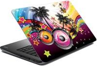 View shopkio Music_Hub_Laptop_Skin Adhesive Vinyl Laptop Decal 15.6 Laptop Accessories Price Online(shopkio)