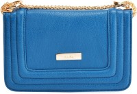KAZO Women Blue PU Sling Bag