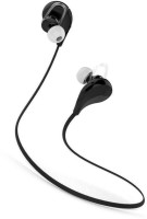Wonder World �� JOGGER Stereo with MIC V4.0 Headset with Mic(Black, In the Ear)