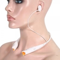 VibeX � Music Phone call Sports™ Headset with Mic(White, In the Ear)