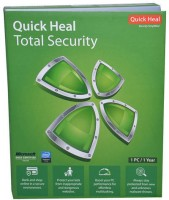 QUICK HEAL Total Security 1.0 User 1 Year(Voucher)