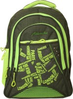 Attache Jazz School Bag (Green) 30 L Backpack(Multicolor)