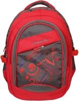 Attache Sporty School Bag (Red & Grey) 30 L Backpack(Multicolor)