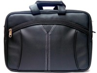 View Stylcozy 17 inch Laptop Messenger Bag(Black) Laptop Accessories Price Online(Stylcozy)