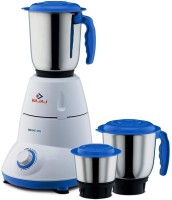 Bajaj 410175 500 W Mixer Grinder(White, Black, 3 Jars)