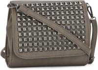 People Women Brown PU Sling Bag