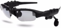 VibeX �� Multifunctional V4.0 Smart Bluetooth Sunglasses with Polarized Lens Headset with Mic(Black, In the Ear)