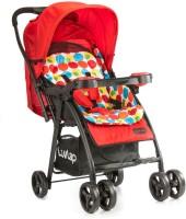 LuvLap Joy Baby Stroller - Printed Red(3, Multicolor)