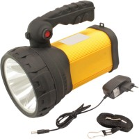 View SJ 3mode Jumbo 10w Cree Rechargeable LED Torch - 47 Emergency Lights(Yellow) Home Appliances Price Online(SJ)