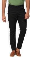 Being Human Skinny Fit Men's Black Trousers