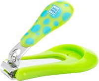 MeeMee Protective Baby Nail Clipper Cutter with Skin Guard (Green)
