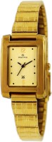 Maxima 02407CPLY Formal Gold Analog Watch For Women