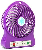 View Kumar Retail Portable Mini USB FAN_Pr21 Rechargeable Fan_01 USB Fan(Purple) Laptop Accessories Price Online(Kumar Retail)