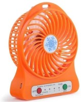 View Kumar Retail Mini Rechargeable Portable Fan_A10 USB Battery_Cooler USB Fan(Orange) Laptop Accessories Price Online(Kumar Retail)