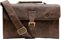Hidegear Genuine Vintage Leather  Camera Bag(Brown)