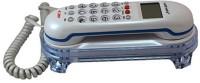 View Oriental KX-T666 CID Corded Landline Phone(White) Home Appliances Price Online(Oriental)