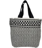 Diwaah Women Black Cotton Tote