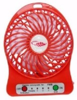 View Kumar Retail Mini Rechargeable Portable Fan_A11 USB Battery_Cooler USB Fan(Red) Laptop Accessories Price Online(Kumar Retail)