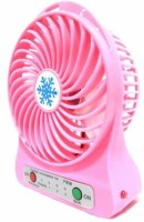 View Kumar Retail USB MINI FAN_P66 Portable Fan USB Fan(Pink) Laptop Accessories Price Online(Kumar Retail)