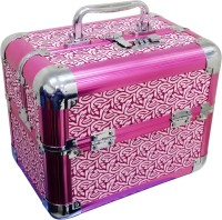 Satisfaction Charlotte to store cosmetic items Vanity Box(Pink)