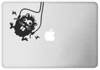 View Rawpockets Funny Animal Vinyl Laptop Decal 15.1 Laptop Accessories Price Online(Rawpockets)