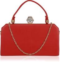 Kleio Women Red PU Sling Bag