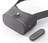 Google Daydream View VR Headset with Controller (Slate)(Smart Glasses, Slate)