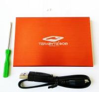 TERABYTE USB 3.0 Hard Drive Casing 2.5 inch Internal HDD Enclosure(For 2.5 Inch Sata Hard Drive, Red)