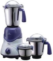Bajaj TRIO 410158 600 W Mixer Grinder(White, Black, 3 Jars)