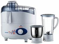 Bajaj FRESH SHIP 410160 450 W Juicer Mixer Grinder(White, Black, 2 Jars)