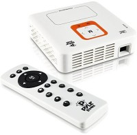 Pyle 2100 lm LED Corded & Cordless Portable Projector(Multicolor)