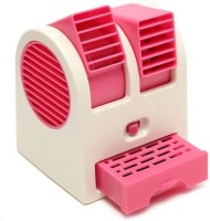 View Mezire Mini Cooler (PINK) P3 USB Fan(Pink) Laptop Accessories Price Online(Mezire)