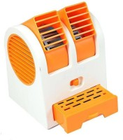 View Mezire Mini Cooler (ORANGE) O4 USB Fan(Orange) Laptop Accessories Price Online(Mezire)