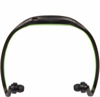 ZYDECO SBT9 Headset with Mic(Green, Black, In the Ear)