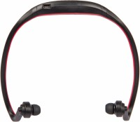 ZYDECO H9 Headset with Mic(Red, In the Ear)