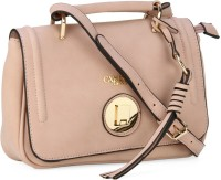 Carlton London Women Pink Genuine Leather Sling Bag