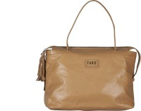 FARO Women Brown Genuine Leather Shoulder Bag