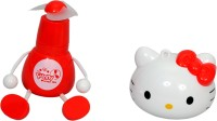 View PTCMart Pro PTCMART Hello KITTY FAN USB Fan(Multicolor) Laptop Accessories Price Online(PTCMart)