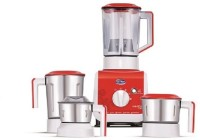 Elgi Vario+ 750 W Juicer Mixer Grinder (4 Jars, Red)