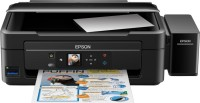 Epson L485 Multi-function Wireless Printer(Black, Refillable Ink Tank)